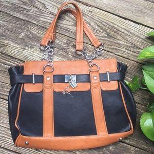 Charming Charlie Leather Bag